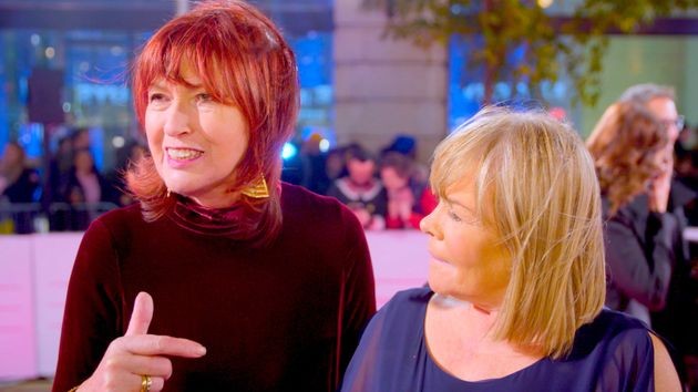 Janet Street-Porter and Linda Robson at the ITV