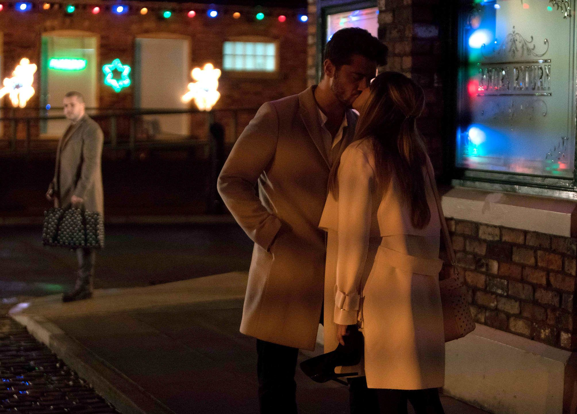 Spoiler! Maria And Adam's 'Corrie' Kiss Is Set To Ruffle