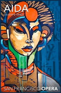 AÏDA – Artwork by Retna