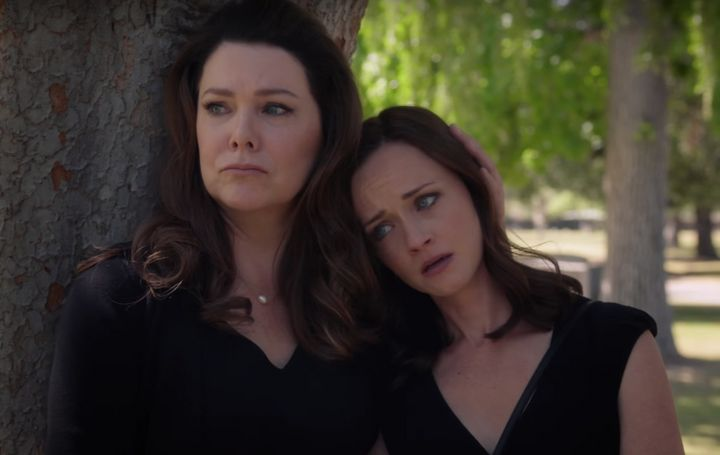 "Lauren Graham and Alexis Bledel in ""Gilmore Girls: A Year in the Life."""