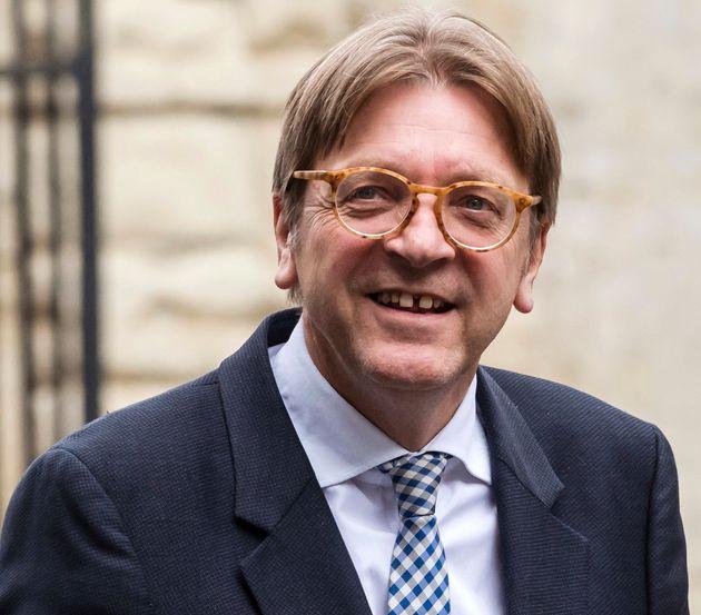 The European Parliament's lead Brexit negotiator, Guy