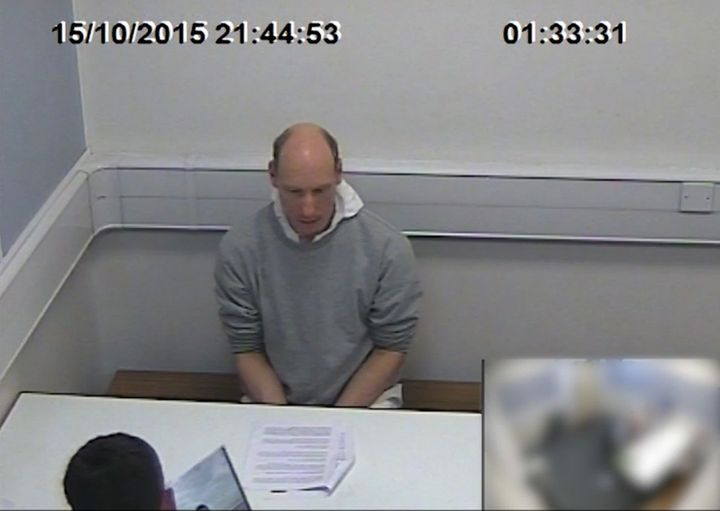 Stephen Port, pictured here during a police interview, was given a whole-life sentence and will never be paroled.