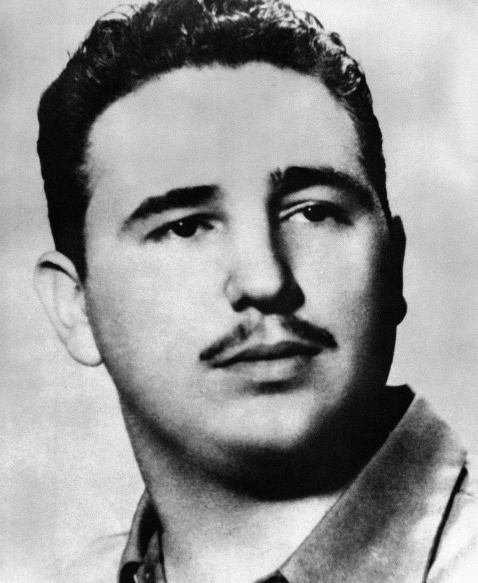 Fidel Castro poses for a portrait in 1953.