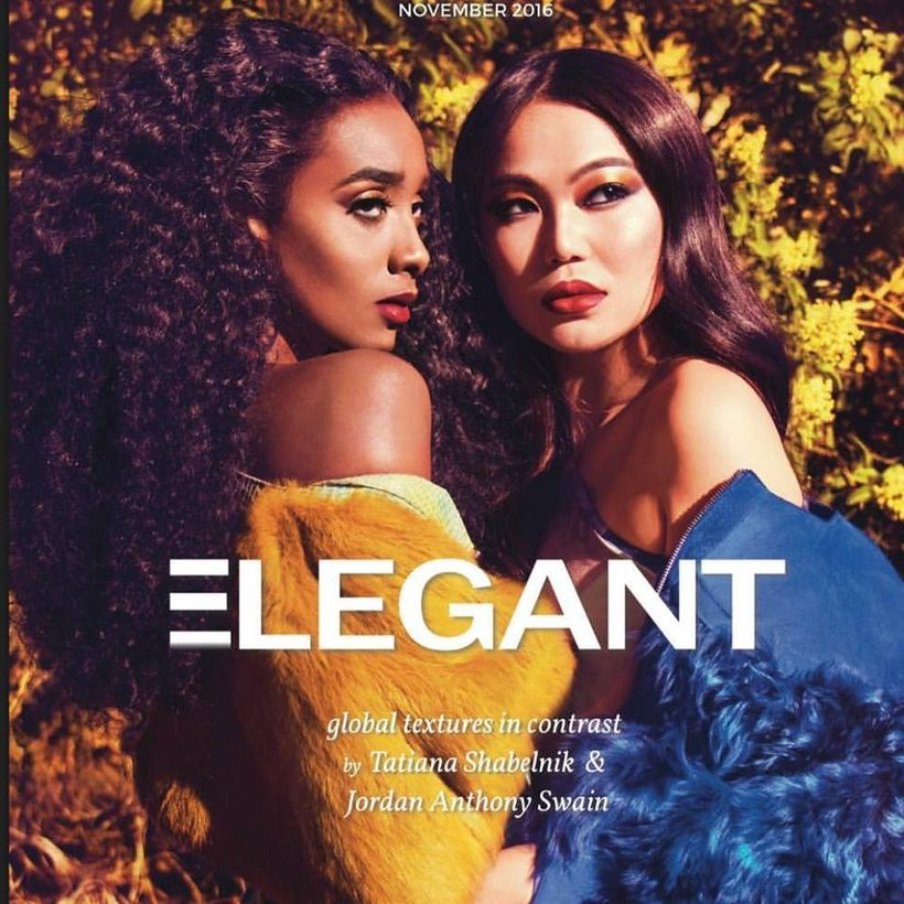 @elegantmagazine Designer @tatianashabelnik Photography @iamjordanswain @tatianashabelnik Models: @anna_asia1 @saraishag Crea