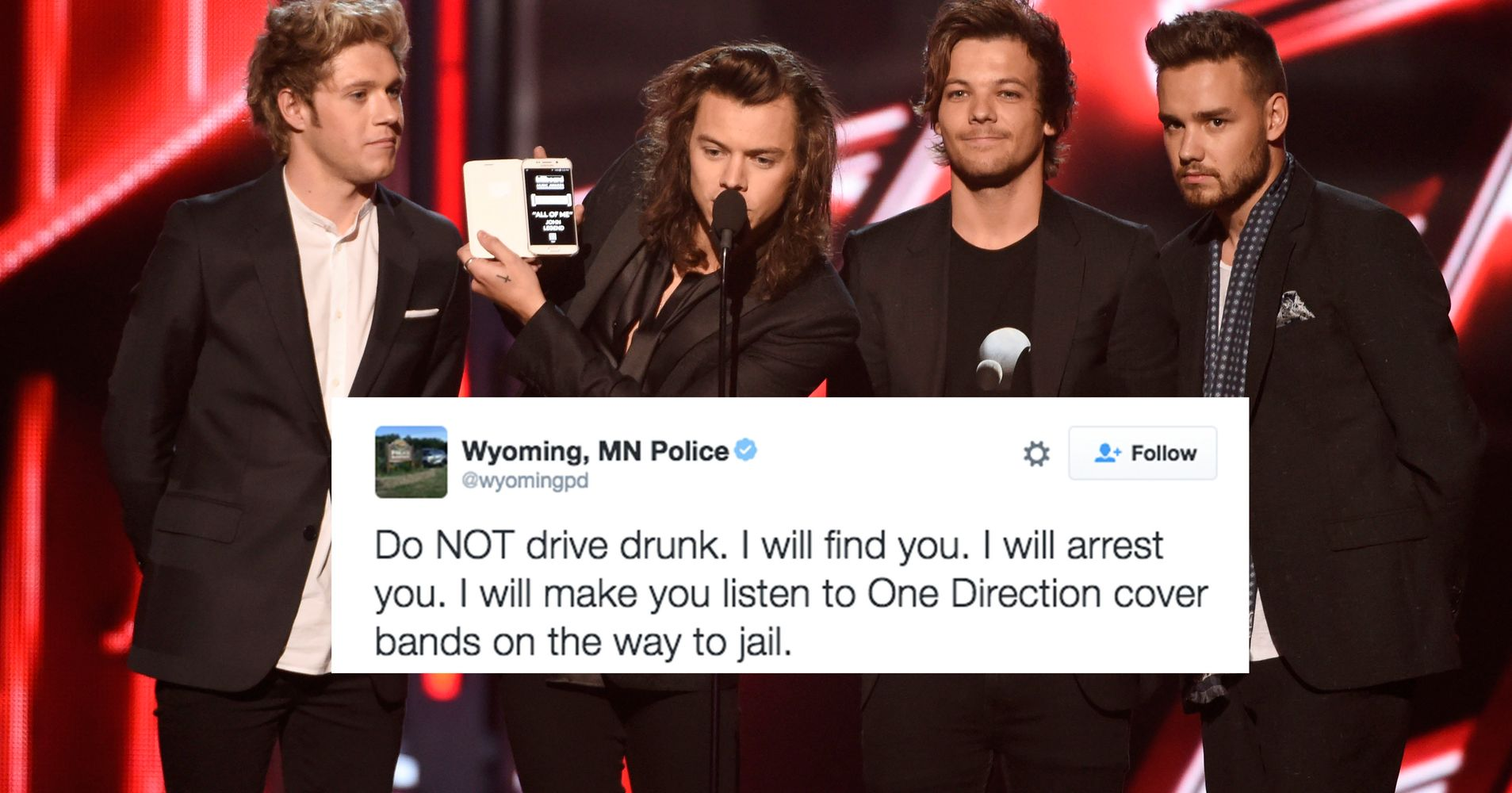 One direction drunk