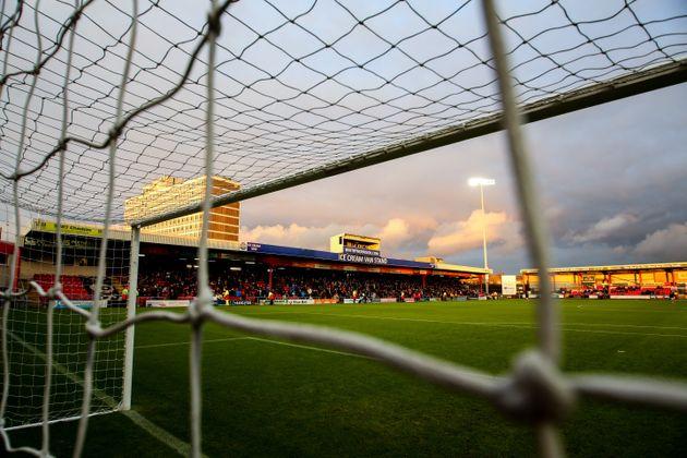 Gresty Road, Alexandra Stadium, the home stadium of Crewe