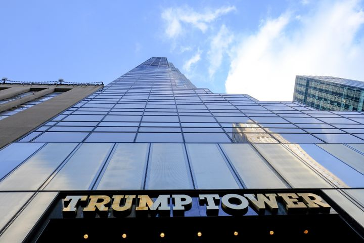"""Trump Tower, located in midtown Manhattan, was briefly renamed """"Dump Tower"""" on Google Maps."""