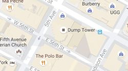 Trump Tower Gets Renamed 'Dump Tower' On Google