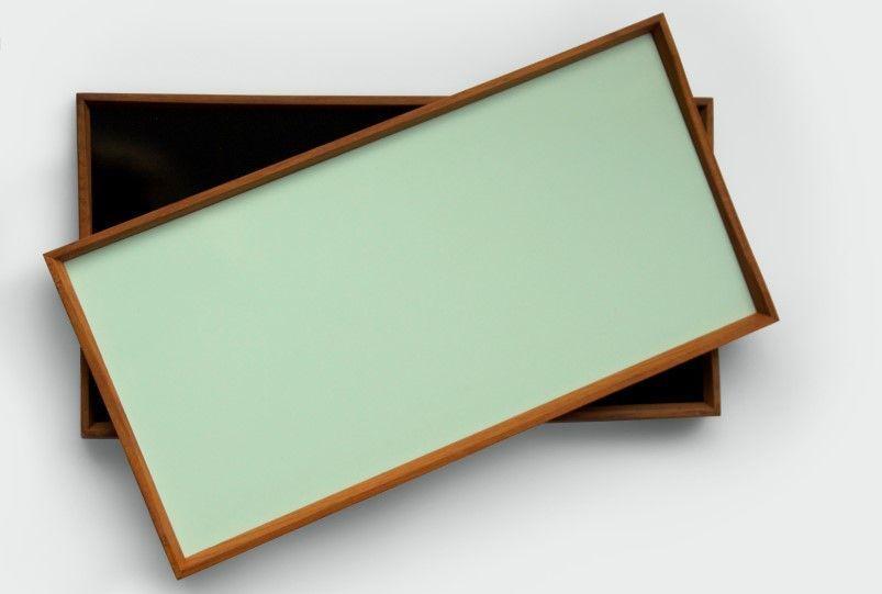 "<a href=""http://architectmade.com/shop/finn-juhl/turning-tray/"" target=""_blank"">Turning Tray by Finn Juhl,</a> $199 - $269"
