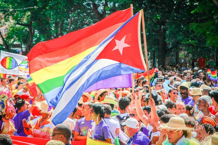 Activists see the Cuban flag and the rainbow flag as wholly compatible.