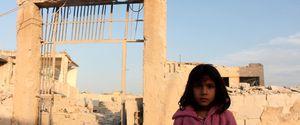 SYRIA IDLIB VACUUM BOMB SYRIAN CIVIL WAR AIRTRIKE