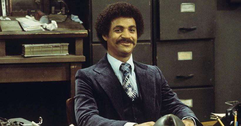Ron Glass as the dapper Sgt. Ron Harris on <em>Barney Miller</em>.