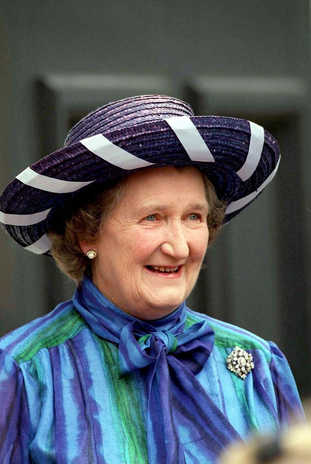 Mrs Rhodes was affectionately know as a 'third daughter' by the Queen