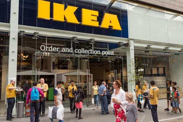 Ikea has opened smaller high street stores in the UK in a bid to bring its products closer to