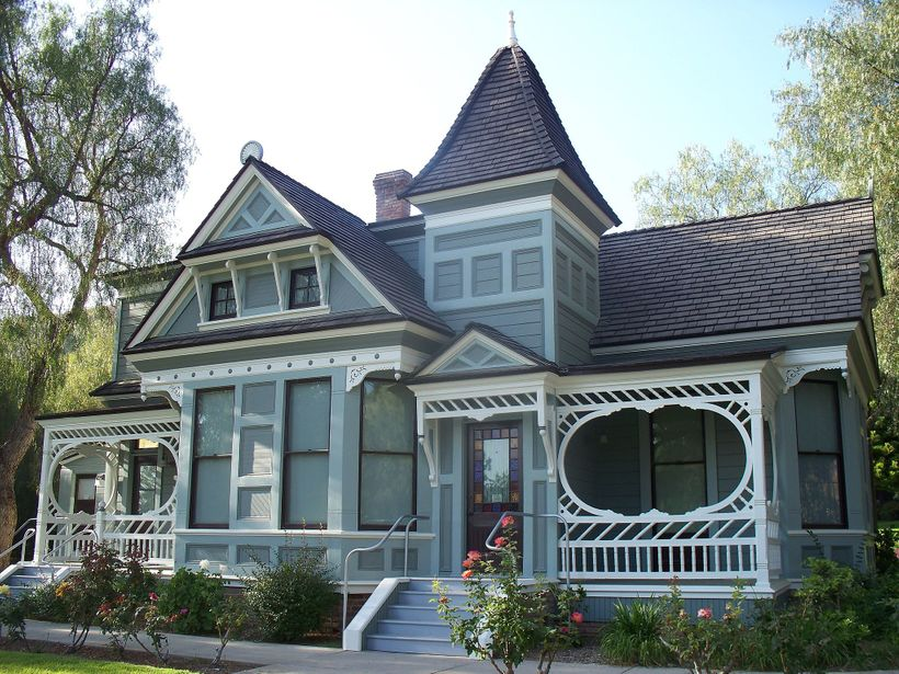 Stick-Eastlake  Victorian style home