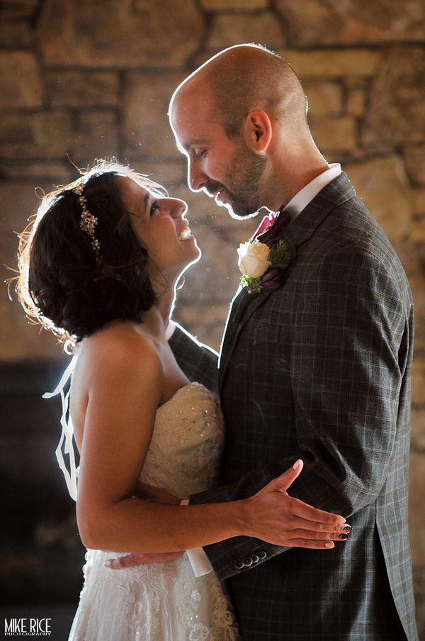 """Kainat and David tied the knot at the High Vista Country Club in Mills River, North Carolina."" -- <i>Mike Rice</i>"