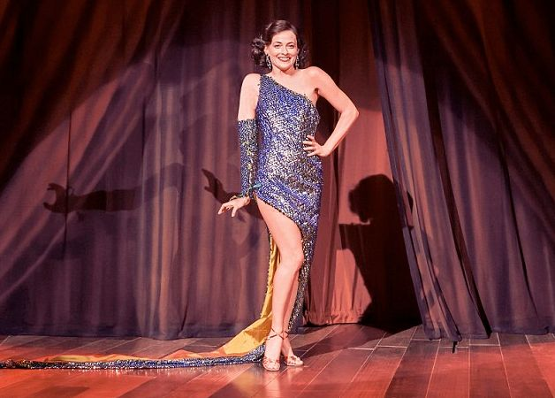 Lara Pulver plays stage-shy Louise who transforms into seductive stripper Gypsy Rose Lee in the stage...