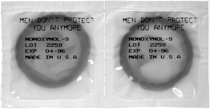 <strong>Jenny Holzer</strong> <em>Untitled (Men Don't Protect You Anymore)</em>