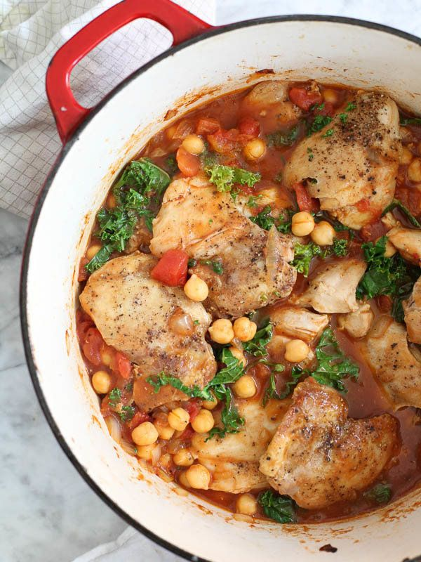 "<strong>Get the <a href=""http://www.foodiecrush.com/tabasco-braised-chicken-chickpeas-kale/"" target=""_blank"">Tabasco Braised"