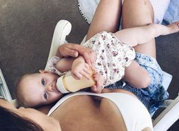 Woman Says 'F Off' To Mom Guilt With Bottle-Feeding Instagram