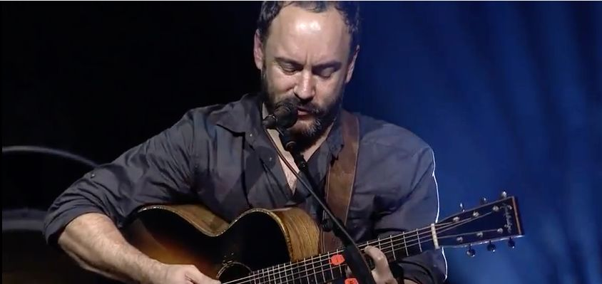"""Dave Matthews performs """"Song For Billijo"""" atthe Stand With Standing Rock concert held at DAR Constitution Hall in Washi"""