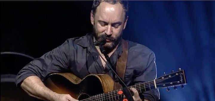 "Dave Matthews performs ""Song For Billijo"" at the Stand With Standing Rock concert held at DAR Constitution Hall in Washi"