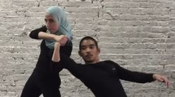 Viral Videos Teach Muslim Women How To Deflect Hijab