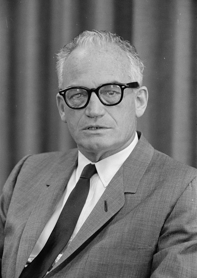 1964 presidential candidate Barry Goldwater