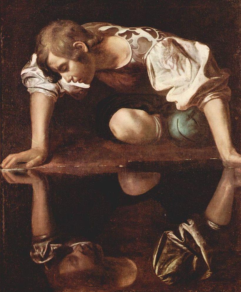 """Michelangelo's """"Narcissus"""""""