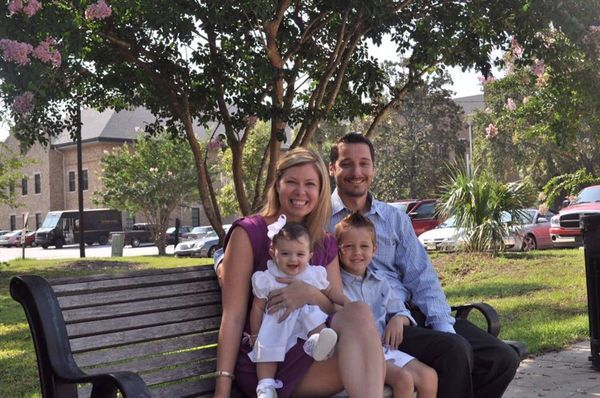 """""""Taken right outside the courthouse on the day our daughter was 'officially' ours. Family is love not blood."""""""