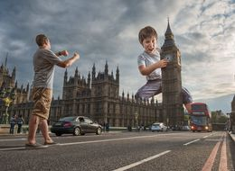 Photographer Creates Awesomely Surreal Pics Of His Son