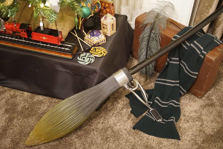 No Harry Potter tree is complete without the Nimbus 2000.