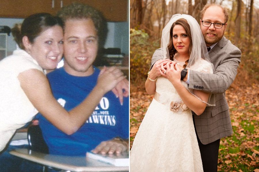 After years of friendship, Brittany and Byron got married at age 30.