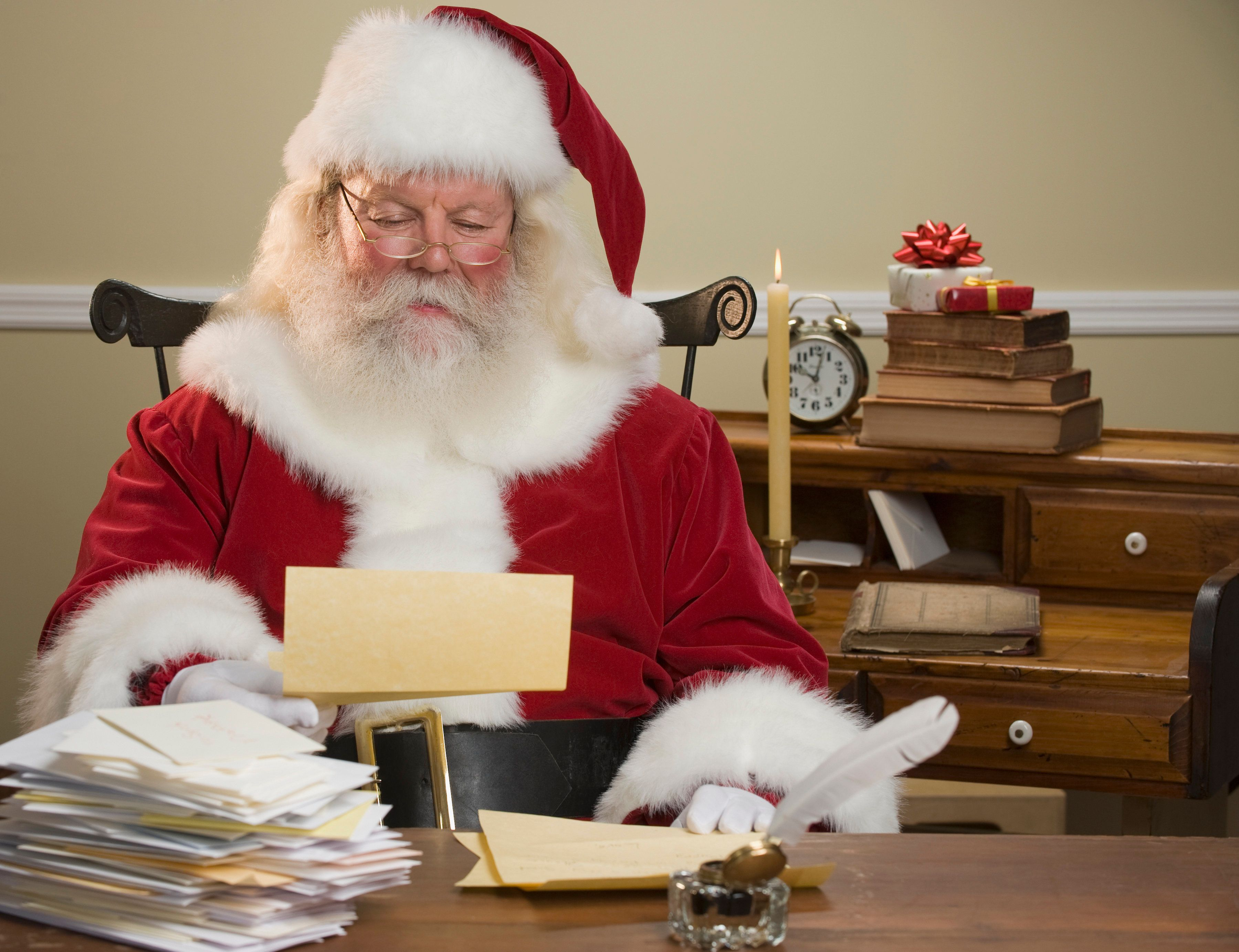 Santalikes reading his letters, but he doesn't always have time to respond. Here's how you can help him out.