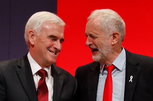 Jeremy Corbyn and John