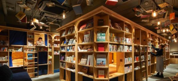 You Can Now Sleep At A Hostel That Looks Like A Magical Bookshop
