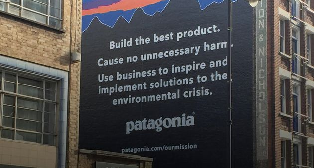 Patagonia said it intends to 'inspire and implement solutions to the environmental