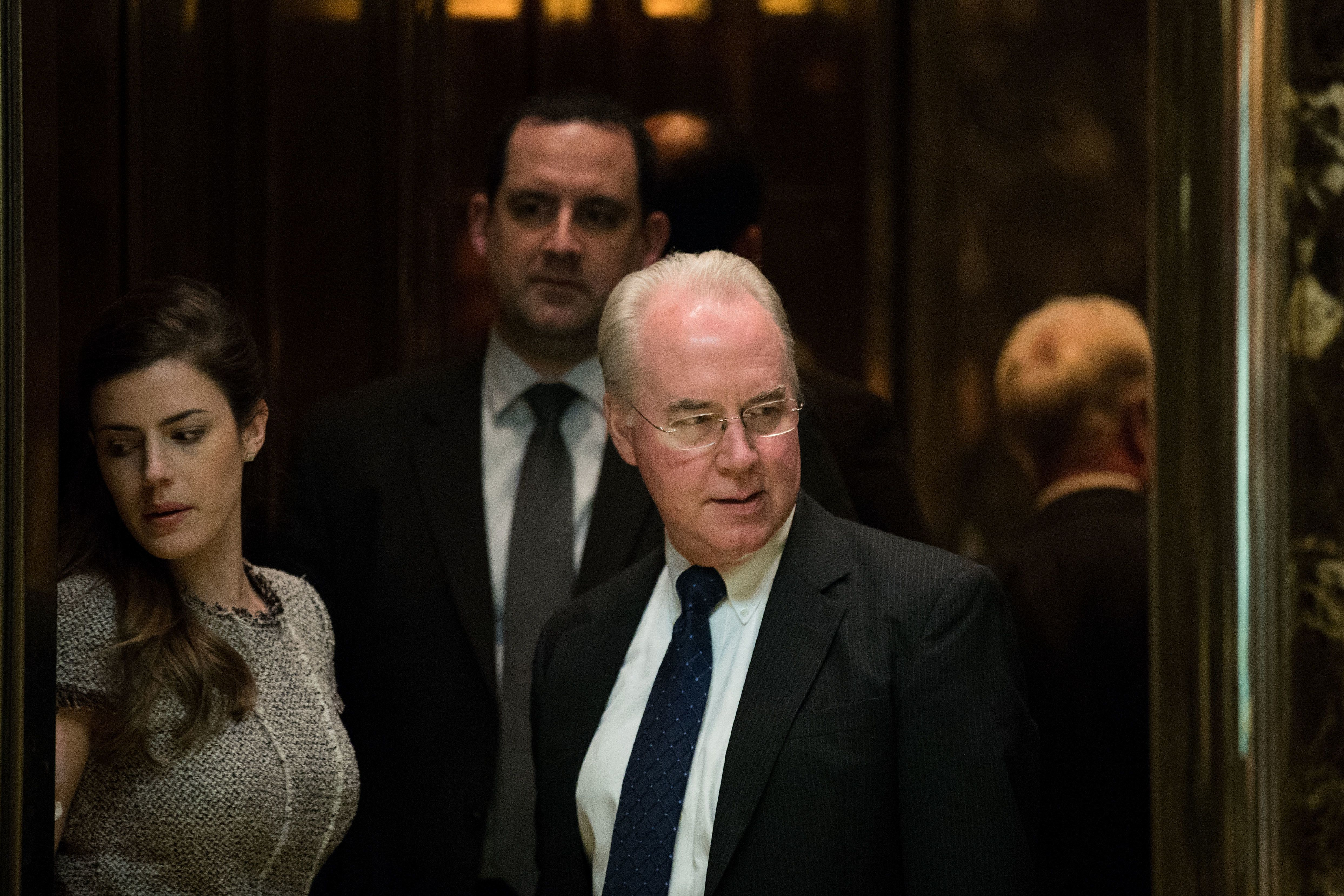 Rep. Tom Price (R-Ga.), President-elect Donald Trump's nominee to beSecretary of Health and Human Services, once said h