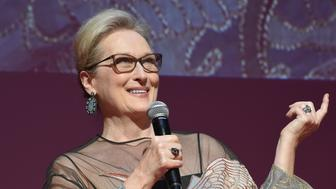 TOKYO, JAPAN - OCTOBER 25:  Meryl Streep attends the Tokyo International Film Festival 2016 Opening Ceremony at Ex Theater Roppongi on October 25, 2016 in Tokyo, Japan.  (Photo by Jun Sato/WireImage)