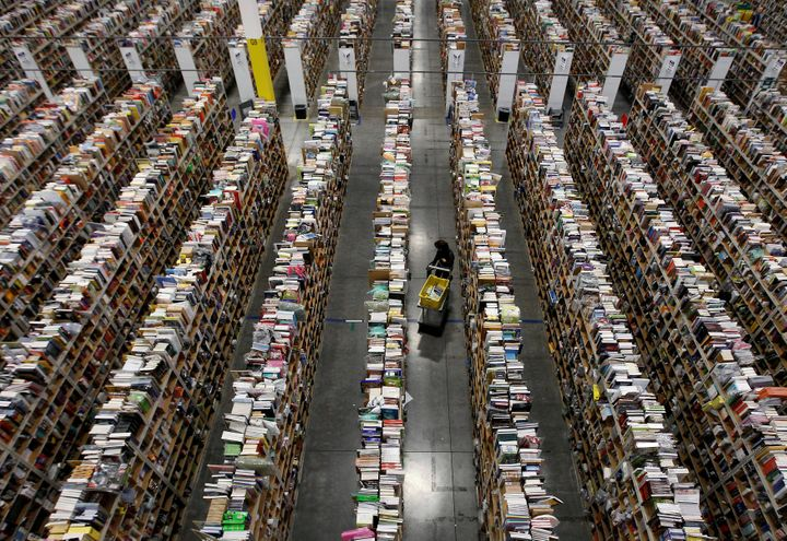 Amazon's massive warehouses have essentially displaced brick-and-mortar retailers around the country.