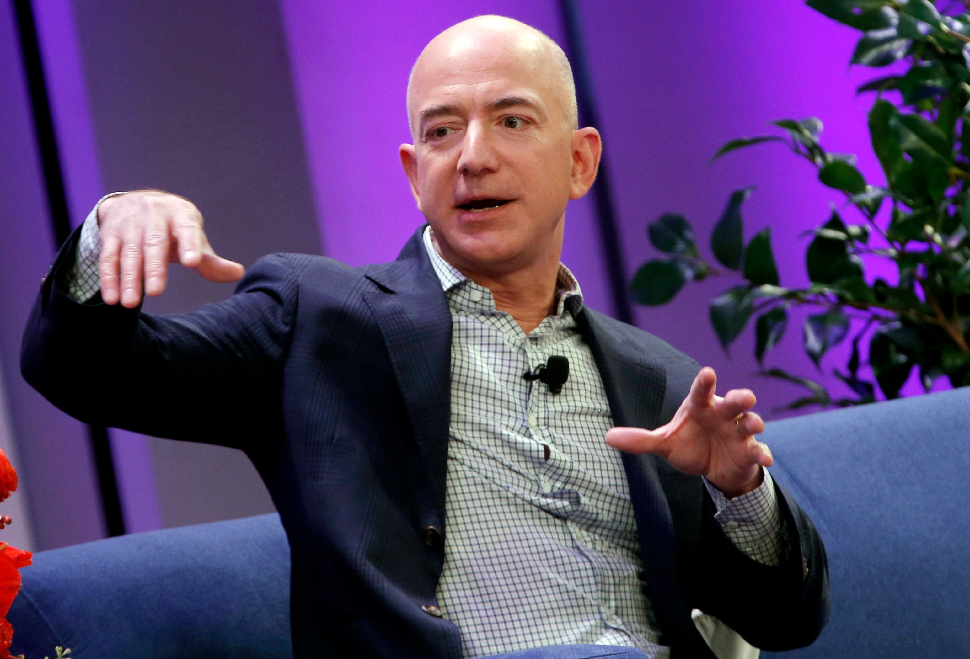 Amazon CEO Jeff Bezos recently surpassed Warren Buffet as the second-richest man in the world.