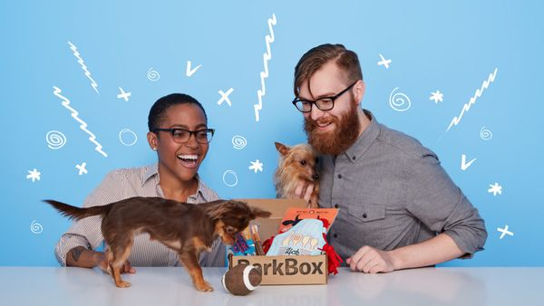 "Treats and toys box for dogs, $24 per month for 6 months, <a href=""http://www.sephora.com/play-subscription-P396286?skimprodu"