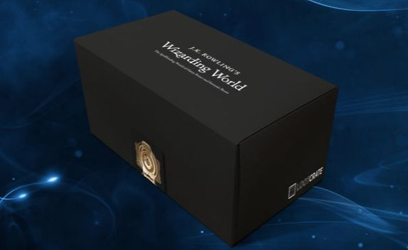 "J.K. Rowling's Wizarding World Box, $34.99 per box, <a href=""https://www.lootcrate.com/crate/wizarding-world-crate?skimproduc"