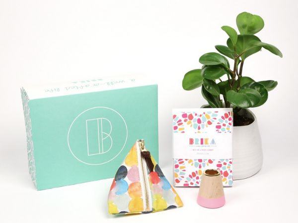 "Hand-picked home goods, $25 per box for three months, <a href=""https://brika.com/p/brika-gift-box_19172/?skimproduct=49a5cd34"