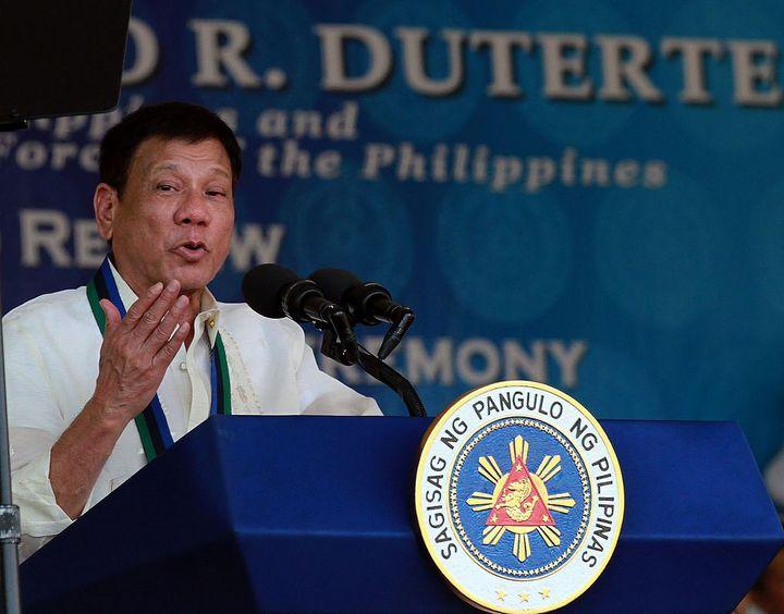 Philippine President, <strong>Rodrigo Duterte</strong>