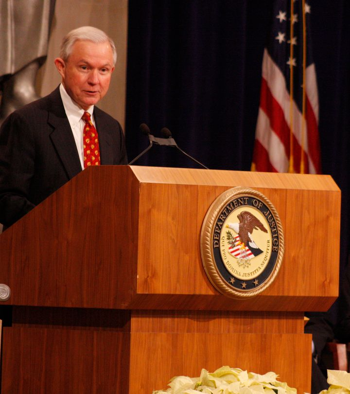 Senator Jeff Sessions in 2009.