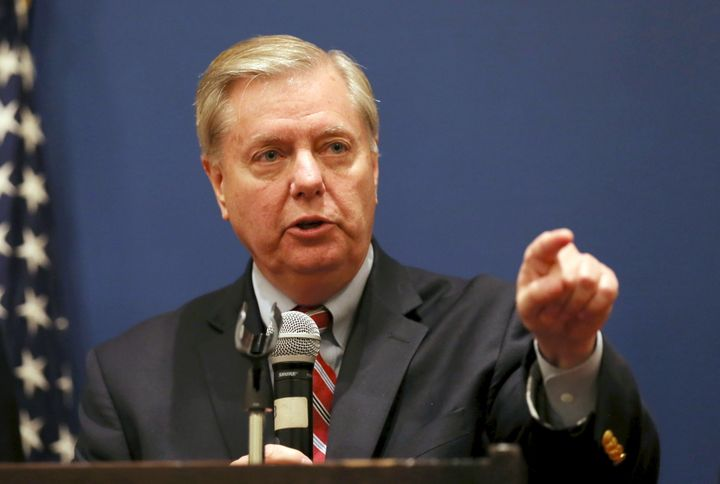 U.S. Senator Lindsey Graham (R-S.C.) challenged President-elect Donald Trump on his baseless claims that millions of people c
