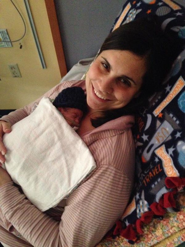 """""""This was the firsttime I held Jake after he came off the ventilator and the firsttime I felt like I was holding"""