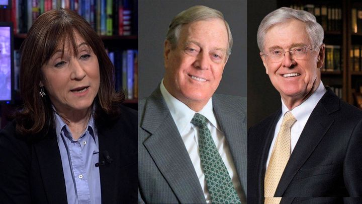 Jane Mayer; David and Charles Koch