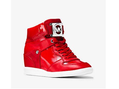 """<a href=""""http://www.michaelkors.com/nikko-mixed-media-high-top-sneaker/_/R-US_43T6NKFE5A?No=-1&color=0618"""" target=""""_blank"""